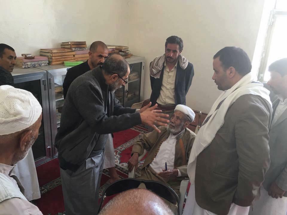بعد حكمه على عيد الغدير  بالبدعة .. هذا ما حدث لمفتي اليمن من الحوثيين في صنعاء .. صورة