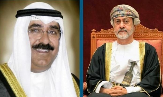 رسالة عاجلة من السلطان هيثم بن طارق إلى ولي عهد الكويت الجديد مشعل الأحمد الصباح