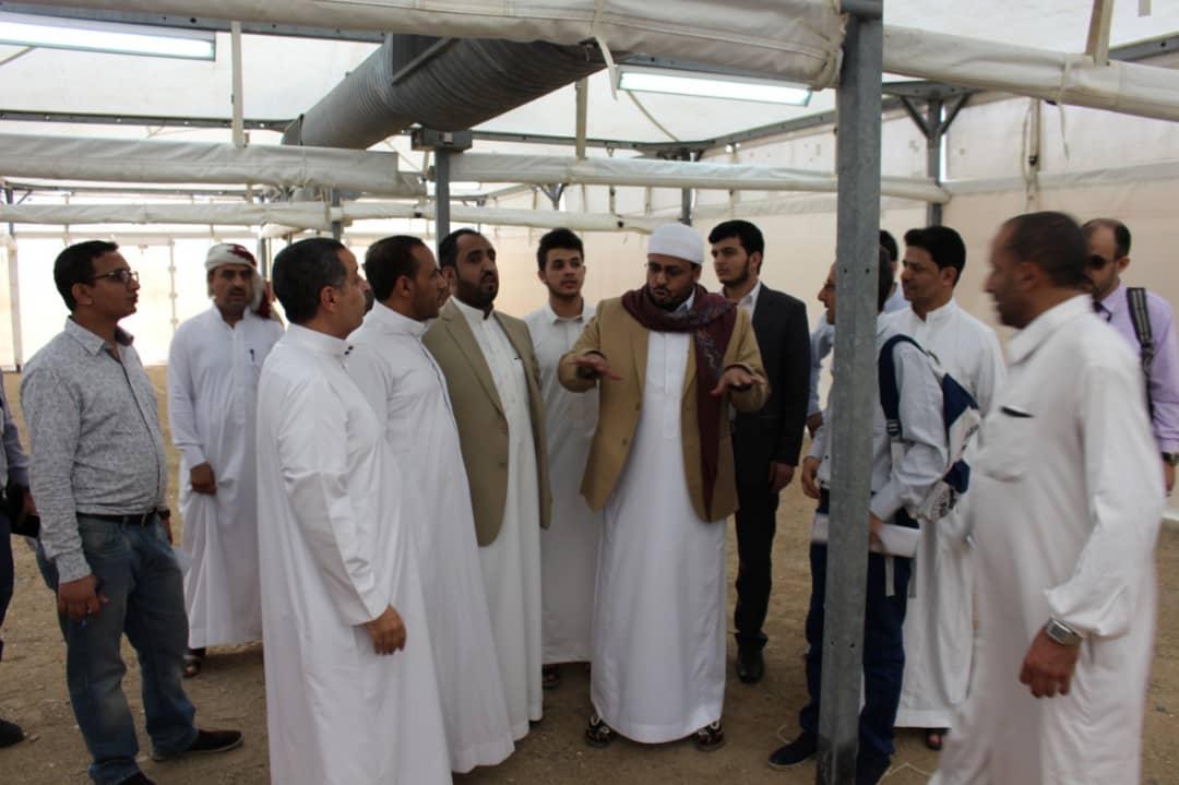 وصول قرابة 20 الف حاج يمني إلى مكة المكرمة