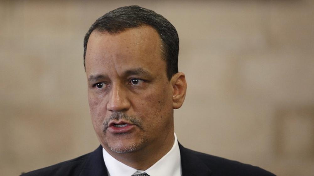 وزير خارجية موريتانيا ولد الشيخ يدلي بتصريح عن اليمن