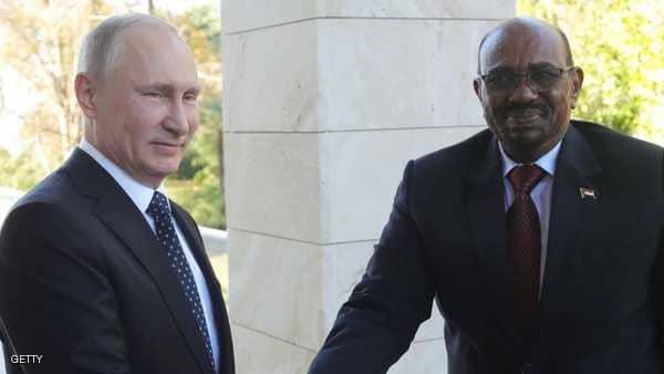 البشير في موسكو.. الجمعة