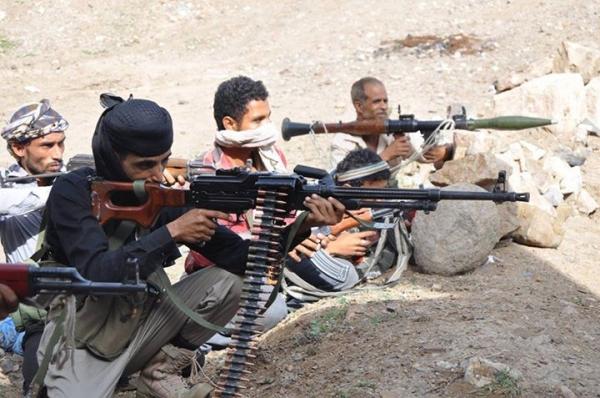 مقتل ثلاثة حوثيين بينهم قيادي في معارك مع الجيش الوطني شرق تعز
