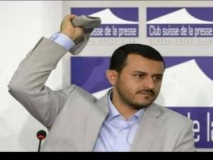 حمزة الحوثي في أول تعليقا له على ظهور طارق صالح