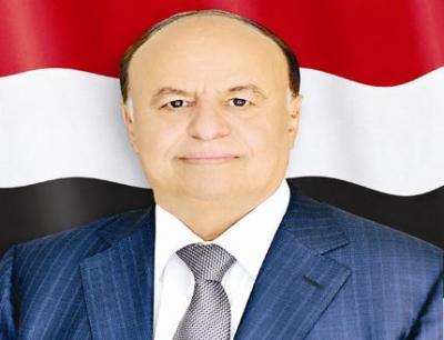 الرئيس هادي يدعو للحسم العسكري لتحرير الحديدة وانقاذ سكانها من كارثة إنسانية