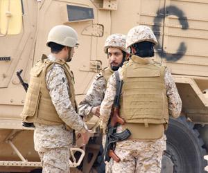 مرابطو الحد الجنوبي للمملكة  : هزمنا مليشيات الحوثي