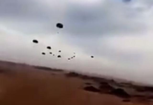 عمليات إنزال جوي واسعة للقوات الخاصة السعودية المشاركة في تحرير الحديدة