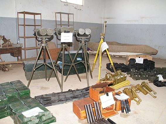 ضبط شحنة «ضخمة» من الأسلحة الإيرانية للحوثيين
