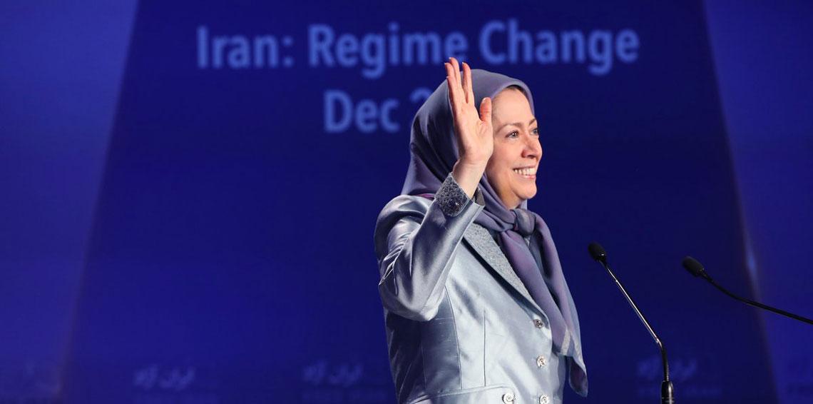 زعيمة المعارضة الإيرانية تراهن على الشباب لإسقاط النظام (صور)