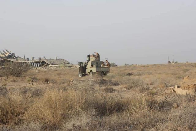 قوات الجيش تقترب من النصر الكبير.. وخسائر فادحة للحوثيين في هذة المحافظة!