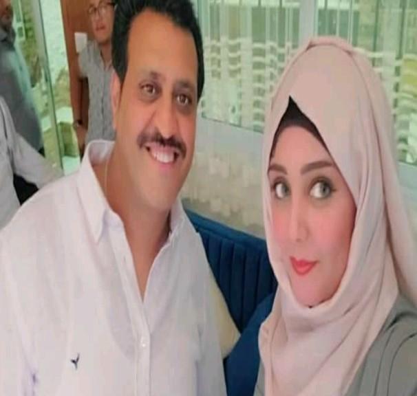 شاهد مايا العبسي في سيلفي عيدي مع فنان يمني شهير .. صورة