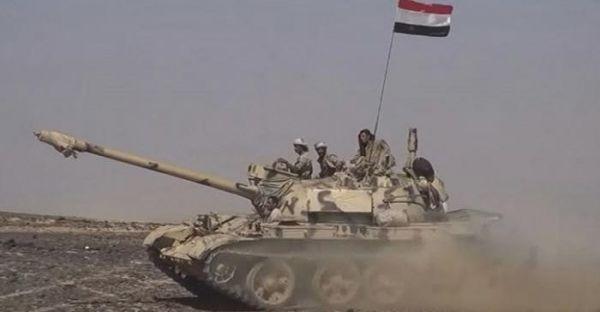 الجيش الوطني يدك مواقع الانقلابيين في الضالع ويكبدهم خسائر في الجوف