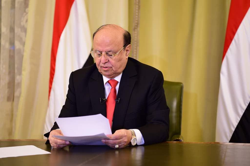 مجلس الشورى يؤكد دعمه للقيادة الشرعية ممثلة بفخامة الرئيس هادي
