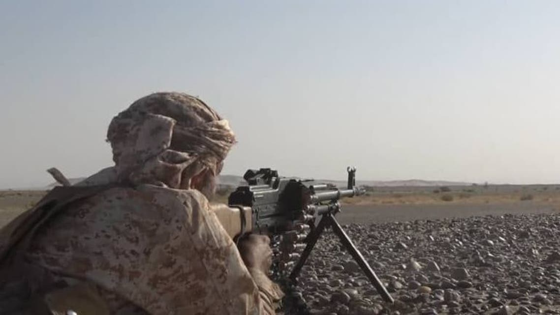 شاهد بالفيديو.. عملية عسكرية ناجحة انطلقت في مدينةالحزم وتحرير مناطق جديده