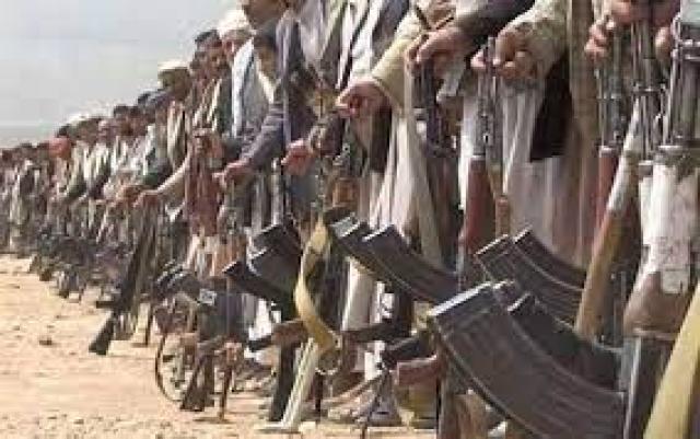 أحدى القبائل اليمنية في صنعاء تمنع تعزيزات حوثية من العبور من أراضيها لمهاجمة مأرب