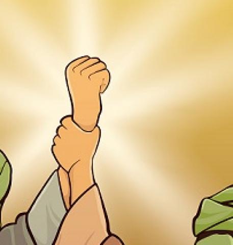 على طريقة الدنمارك وفرنسا .. شاهد مليشيا الحوثي تسيء للنبي محمد (ص) برسوم كاريكاتورية وتثير موجة غضب واسعة .. صور