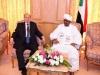 الرئيس هادي يلتقي بالرئيس السوداني بمكة المكرمة